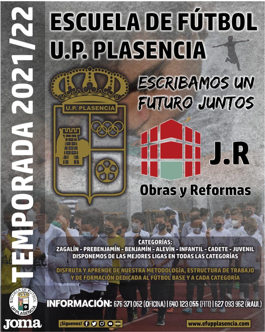 E.F.U.P. Plasencia Temporada 2021/22|Información y Inscripciones